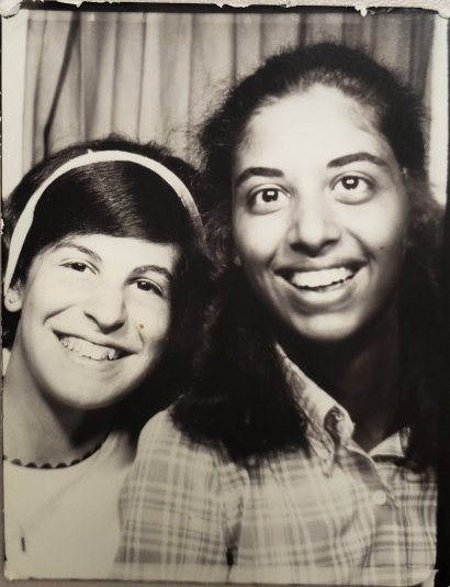 Photo of two girls.